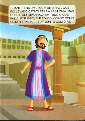 Daniel Na Cova Dos Leoes Historia Biblica Historias Biblicas