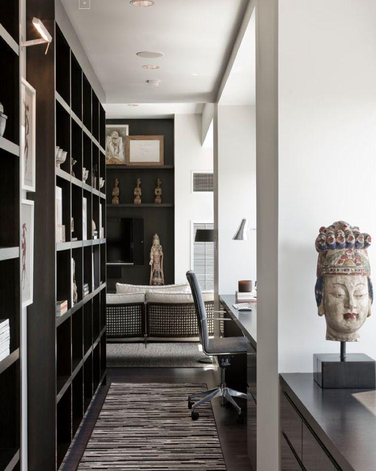 interieur design studio luis bustamante arbeitszimmer