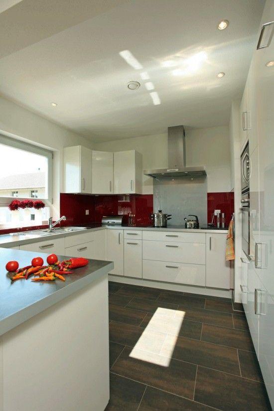 Fertighaus Wohnidee Küche und Esszimmer BRAVUR 130