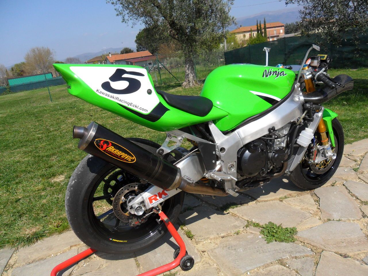 ZX-7RR The Italian job - ZX Forums   Ninjas   Kawasaki motorcycles