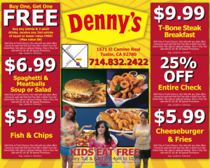 Free Denny S Coupons Best Free Stuff Guide Free Kids Meals Steak Breakfast Dennys Coupons