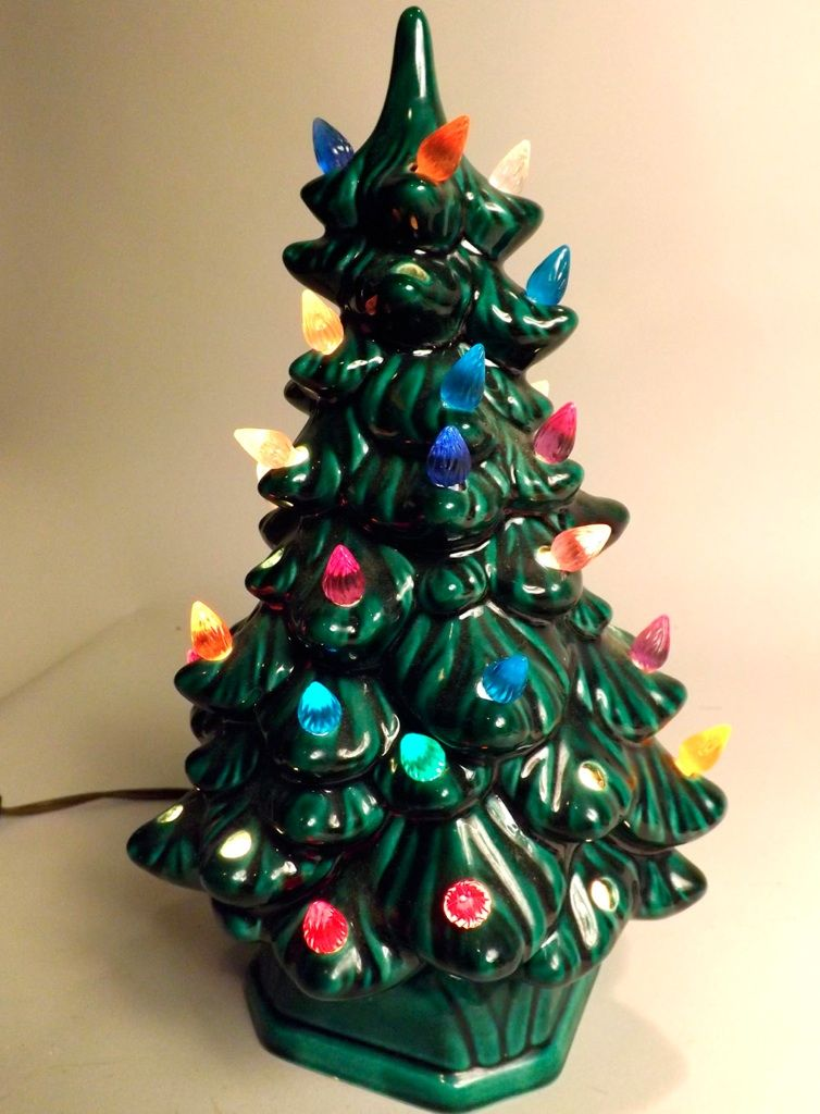 Ceramic Christmas Tree From The 80 S Loved Ceramic Christmas Trees Vintage Christmas Christmas Past