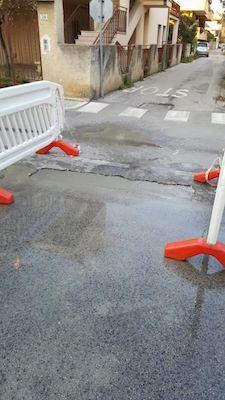 Montesilvano ultimati gli interventi di riparazione in via Chieti
