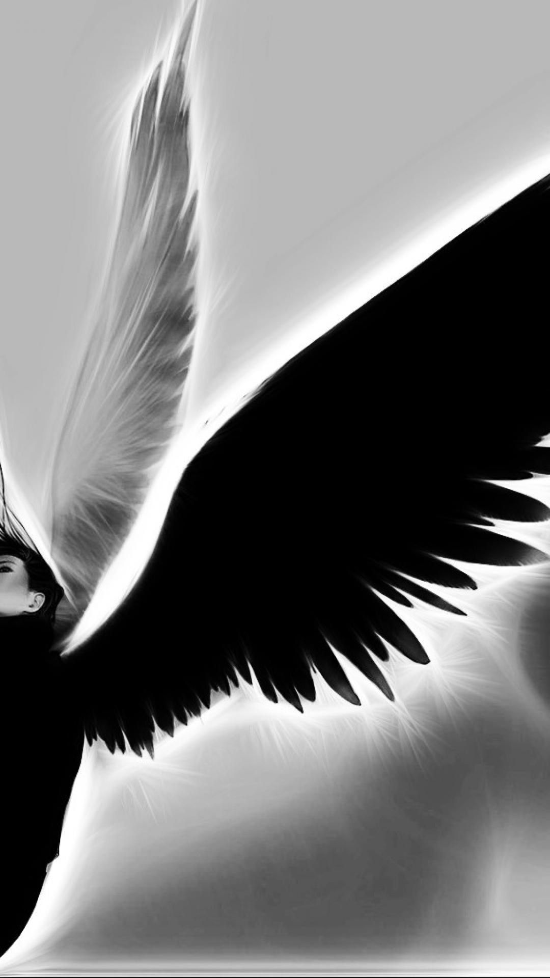 My Guardian Angel Black And White Iphone Wallpaper Black And White Wallpaper Iphone Iphone Wallpaper White Iphone