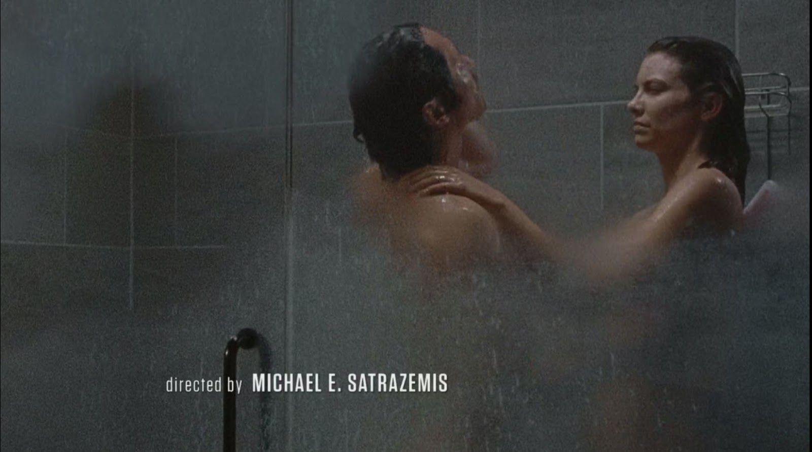 Glenn and maggie shower