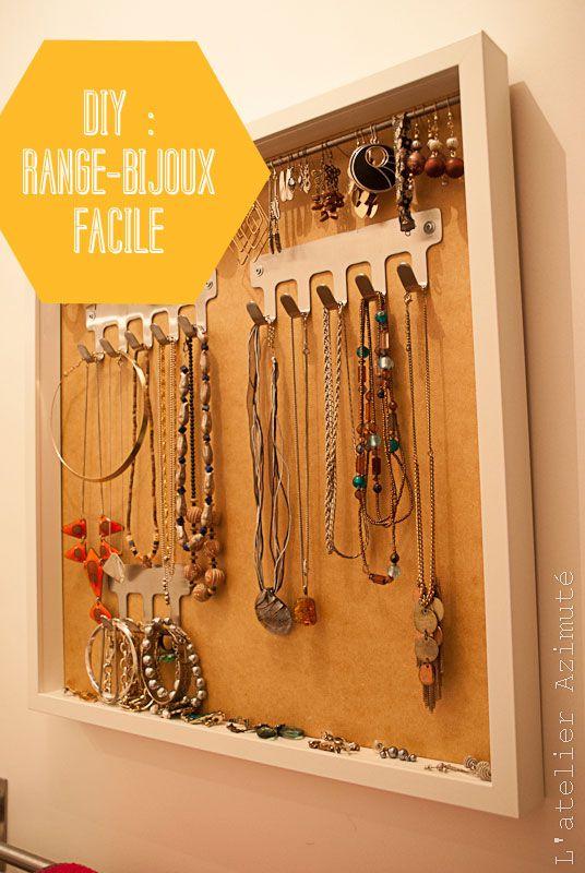 choisir le plus récent incroyable sélection convient aux hommes/femmes Tuto-DIY} Un porte-bijoux facile | Jewelry Storage | Diy ...