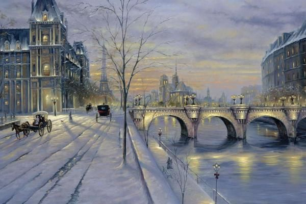 Paris Winter in France