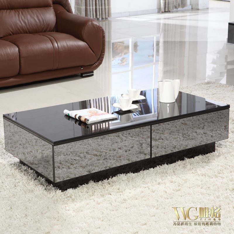 422 31 Black Mirror Coffee Table Ny Interior Designer Jared