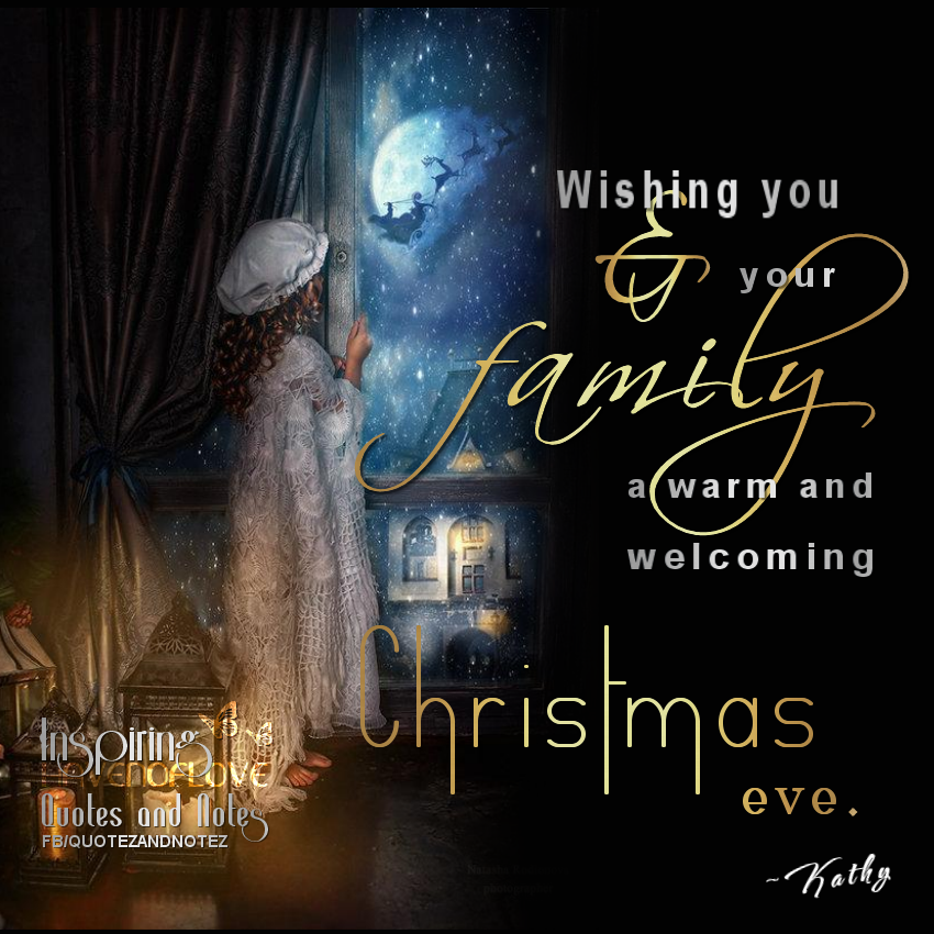 Wishing You And Your Family A Happy Christmas Eve | Christmas in ...
