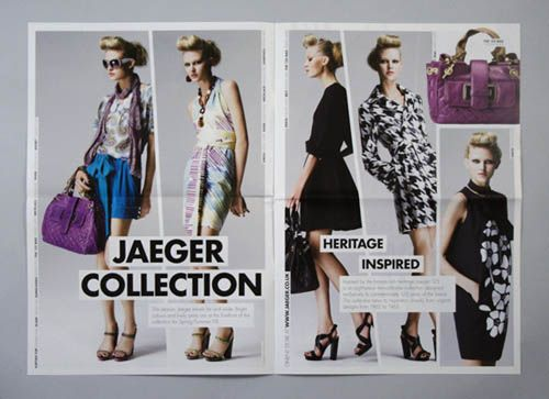 Amazing Fashion Brochure Design Examples  Brochures Catalog