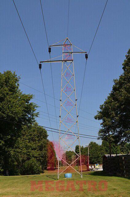 69kv Single Circuit Lattice Tower A Single Circuit Transmission