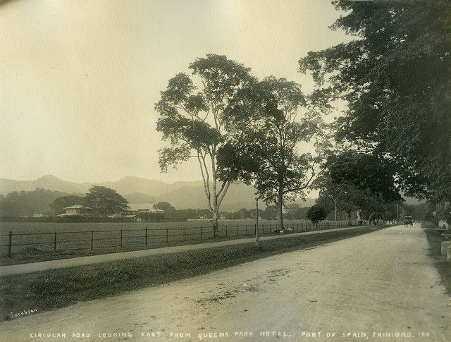 S.E. Jacobson - Circular Road Looking East, From Queens Park Hotel, Port of Spain, Trinidad | by The Caribbean Photo Archive