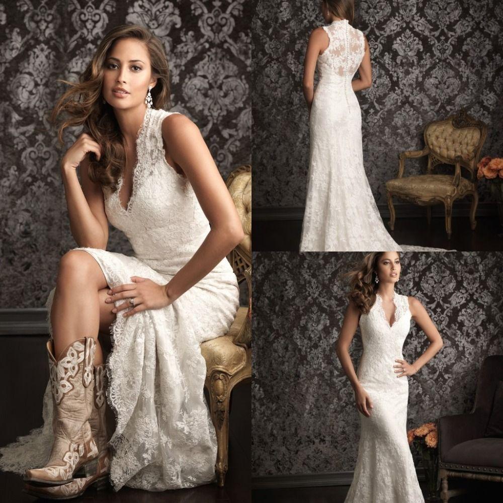 SPANISH LACE WEDDING DRESS   2015 Spanish Lace Wedding Dresses ...