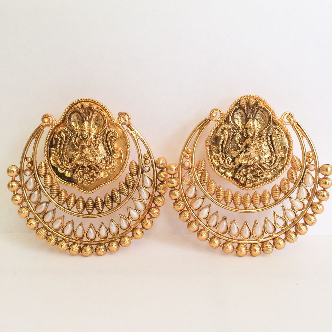 bc09d15653b25 deepika's earrings in ramleela | The weave in 2019 | Earrings ...
