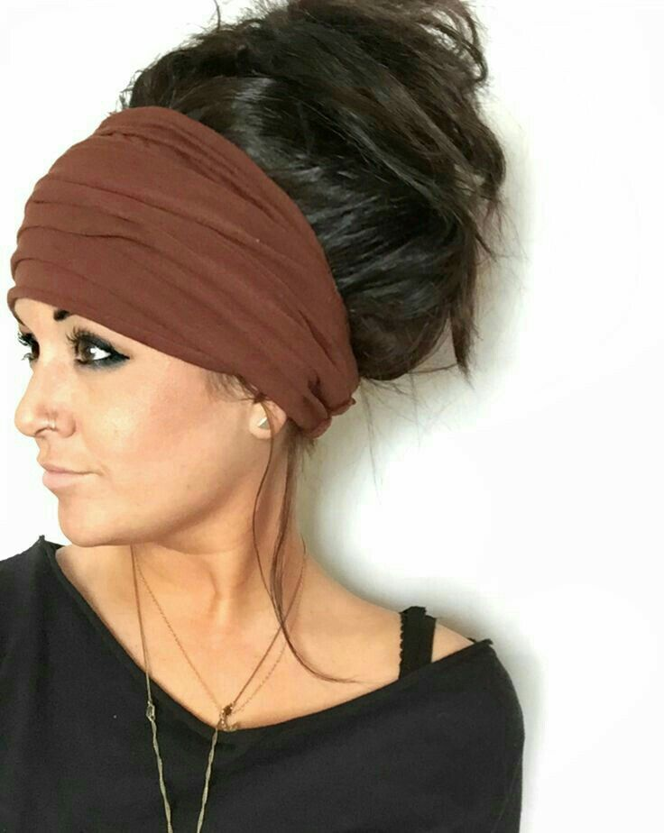 Hairstyles With Headbands Pinhellen Rose On Fashion Hair Accessories  Pinterest