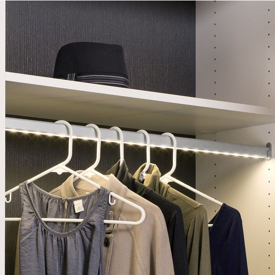 Cabinet Lighting   Hafele Loox 12V LED Closet Wardrobe Clothes .