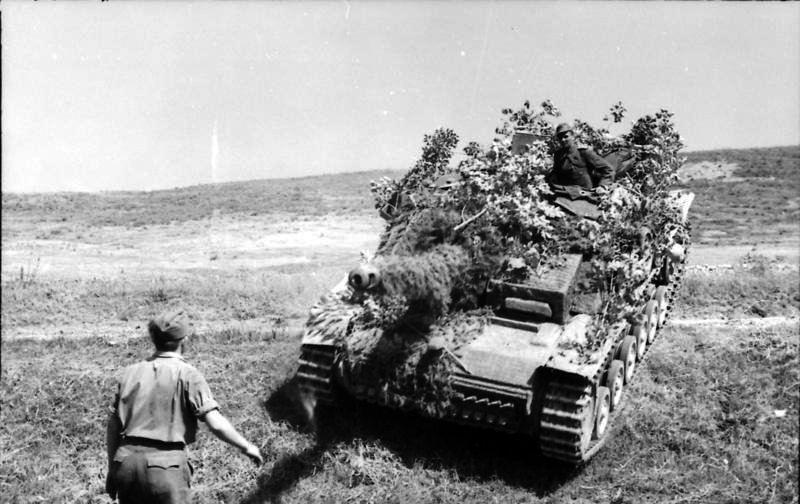 Rome ((Italy), 1944. Sturmgeschütz III
