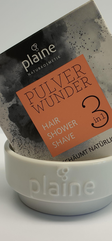 plaine Pulverwunder ist nicht nur für die Haarwäsche