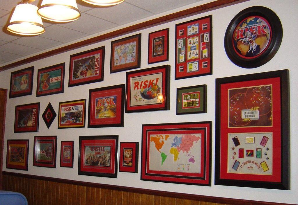 Game Board Art Gaming Wall Art Wall Gaming Decor