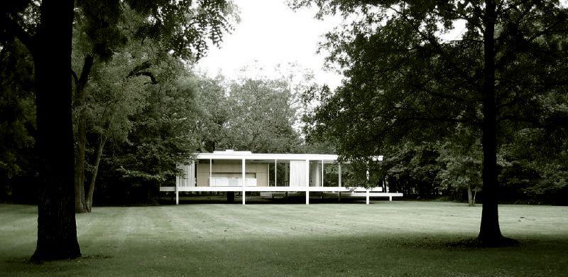 Clssicos da Arquitetura Casa Farnsworth  Mies van der