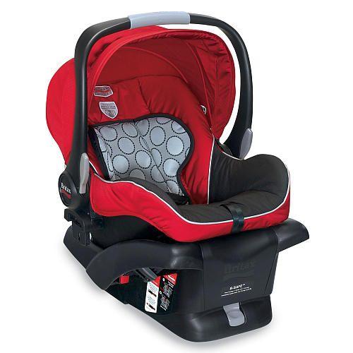 Britax B-Safe 30 Infant Car Seat - Red - Britax - Babies