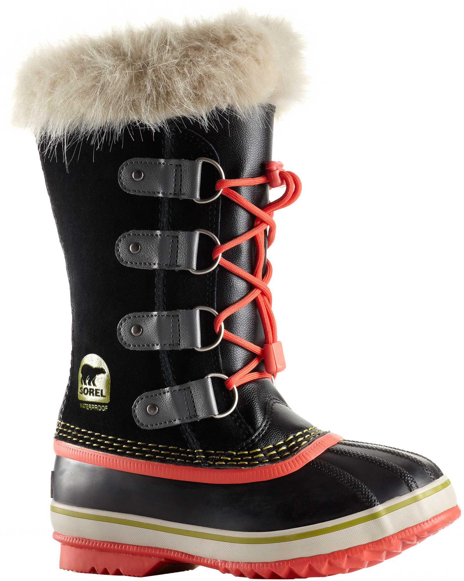 878dfab6cd6fc Sorel Kids  Joan of Arctic Insulated Waterproof Winter Boots