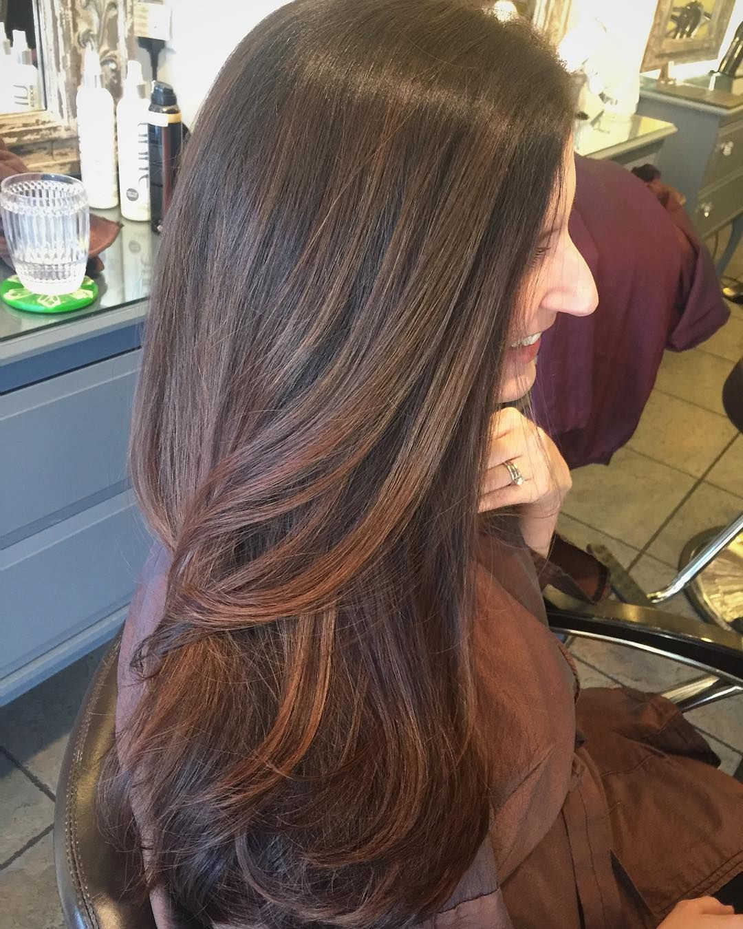 Toni Bish On Instagram Sunkissed Caramel Highligh Brown Hair With Caramel Highlights Caramel Highlights On Dark Hair Brown Hair With Caramel Highlights Light