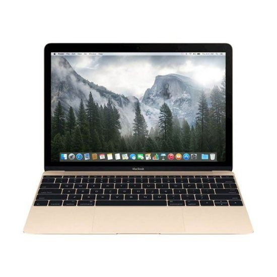 "Best Buy: Apple Macbook® 12"" Pre-Owned Laptop Intel Core M 8GB Memory 512GB Solid State Drive Gold MK4N2LL/A"