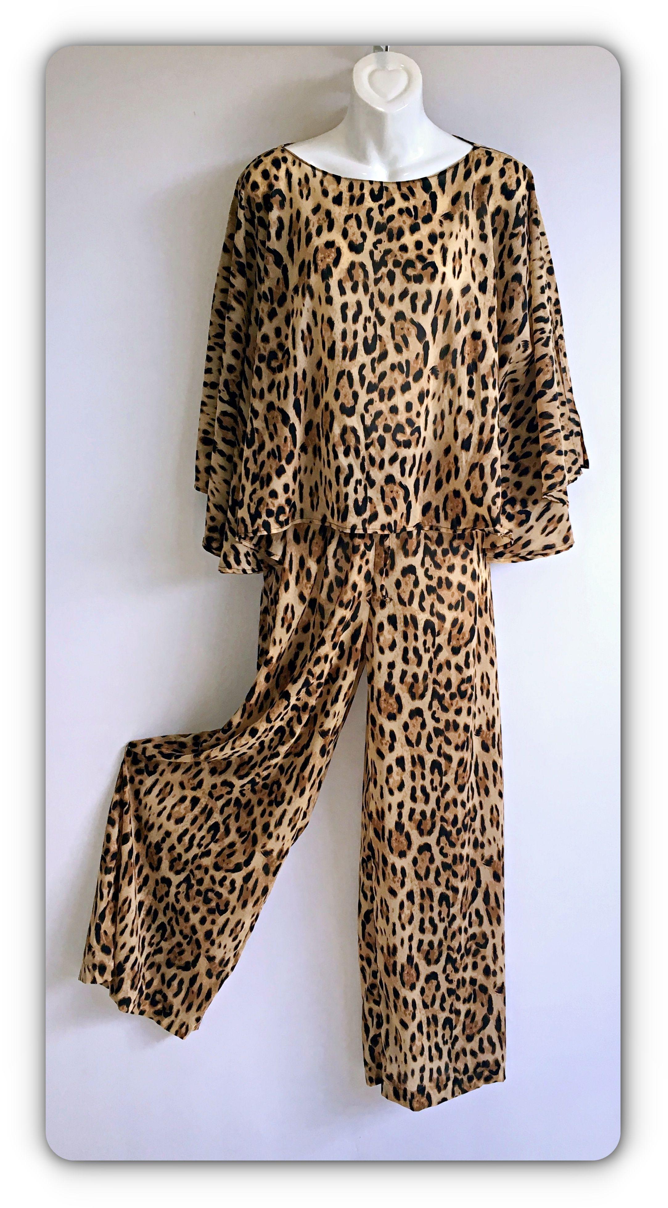 954b0b677d 3 piece leopard print lounge suit
