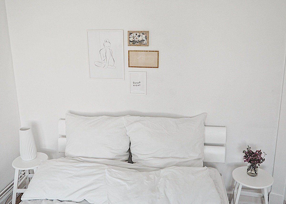Schlafzimmer | SoLebIch.de Foto: Wohnelbe #solebich #schlafzimmer  #einrichten #ideen