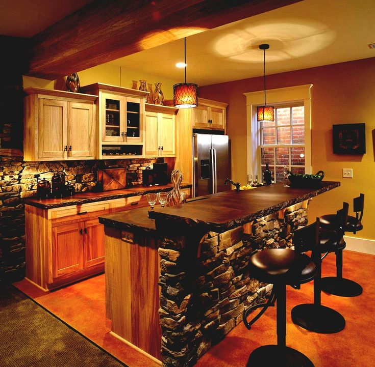 Home Bar Building Plans: Making Your Basement Into An