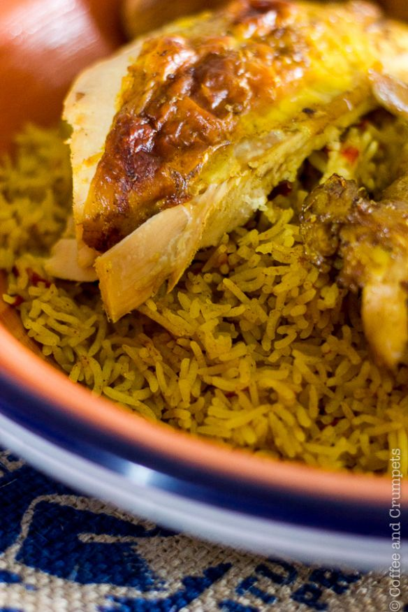 Chicken Kabsa Saudi Style Chicken And Rice Coffee And Crumpets Recipe Rice Dishes Food Middle Eastern Recipes