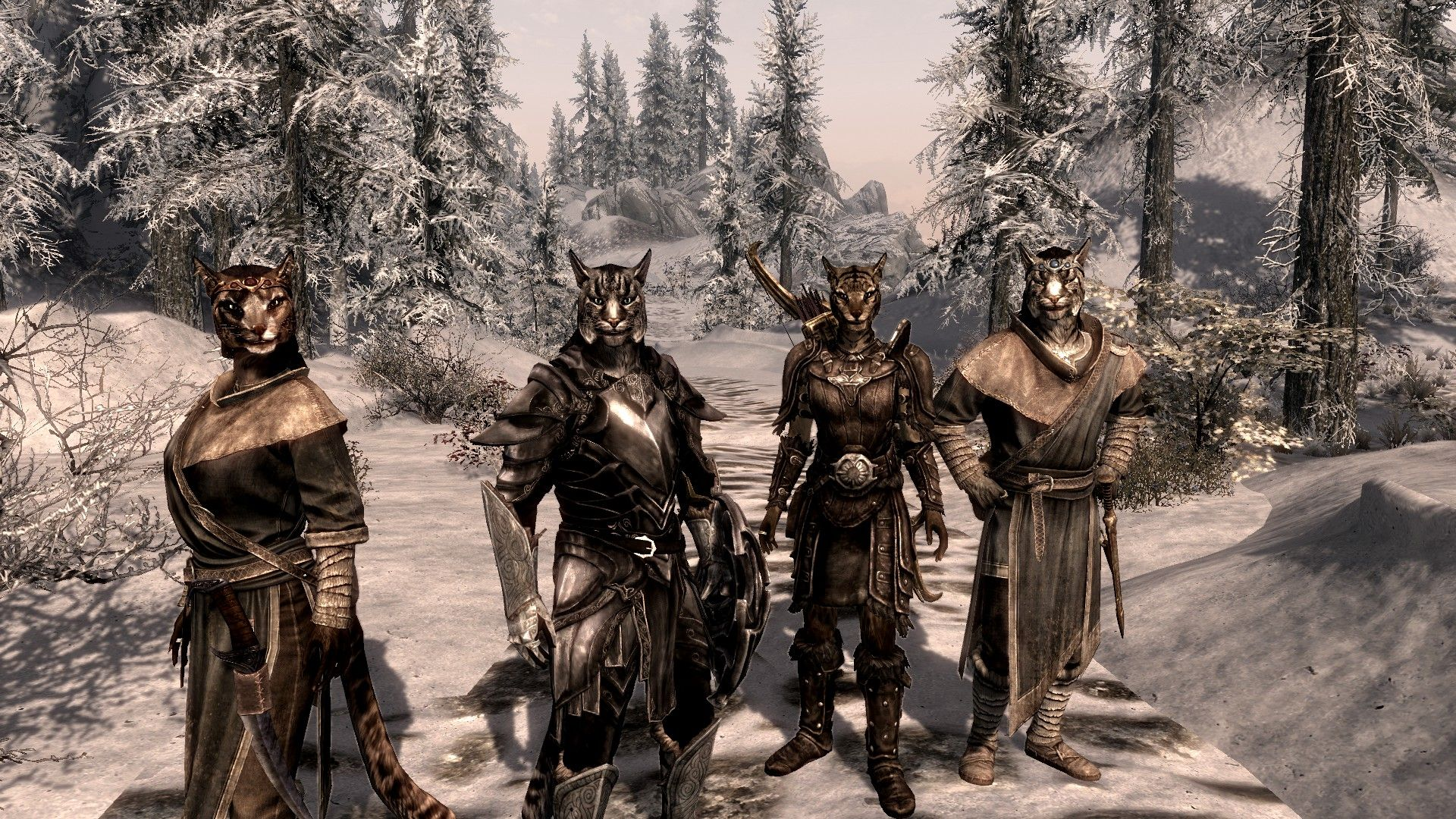 Khajiit caravan | Skyrim, Elder scrolls, Dark brotherhood