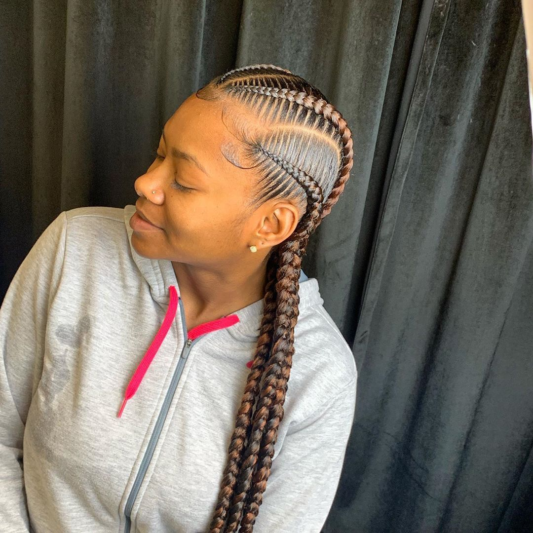 41++ Quick braid hairstyles with weave inspirations