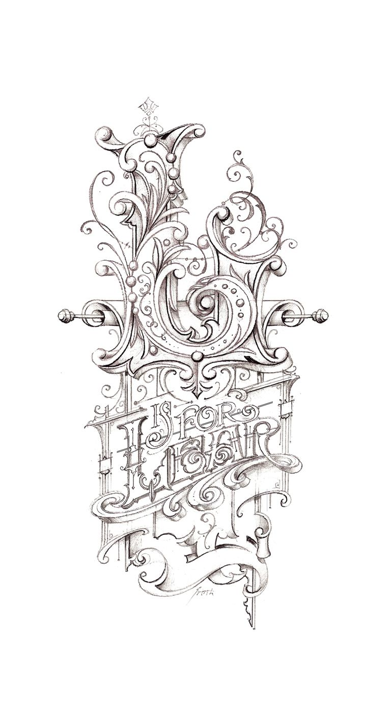 Lear Sketch Hand Lettering StylesLettering DesignHand LetteringTattoo