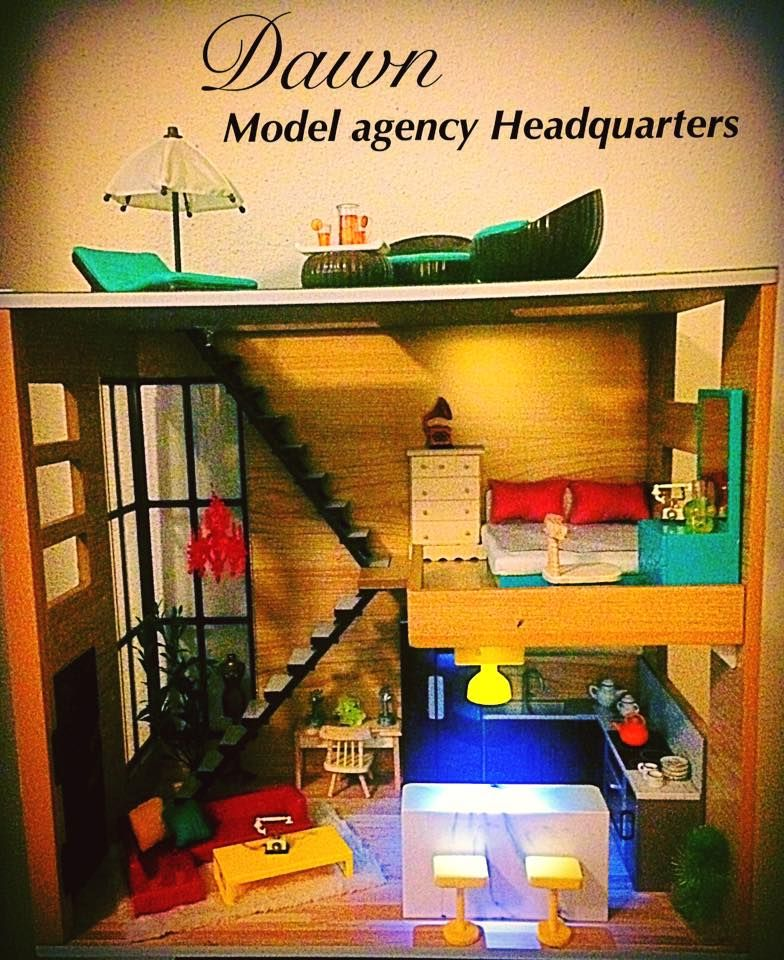 Dawndoll Model Agency Headquarters Owned By George Doll Collector