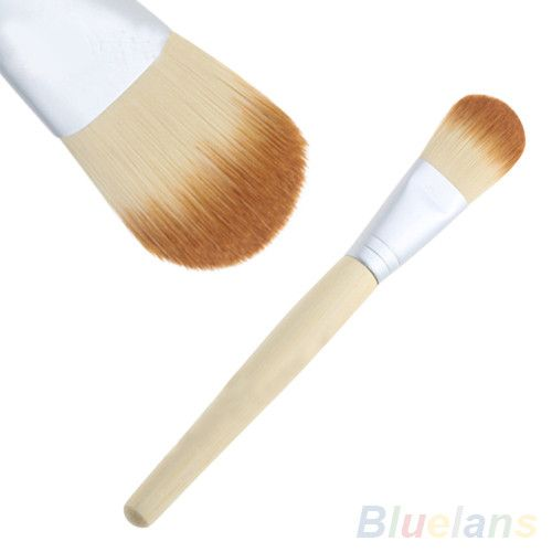 Bamboo Handle Soft Makeup Cosmetic Foundation Powder Blush Brush Beauty Tool 09KQ