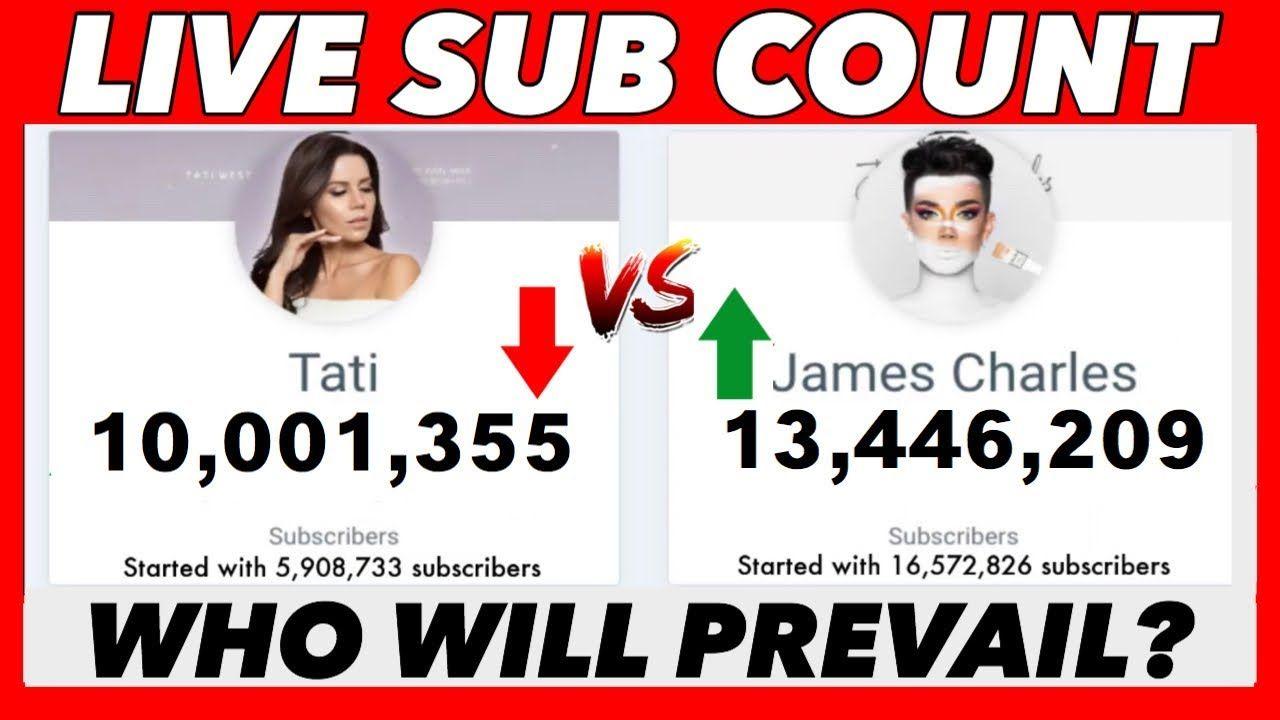 tati and james sub count