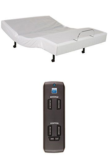 Adjustable Wireless Remote Bed Frame Base Zero Gravity And Dual Massage Electric Bed Frame Bundle With Luxury