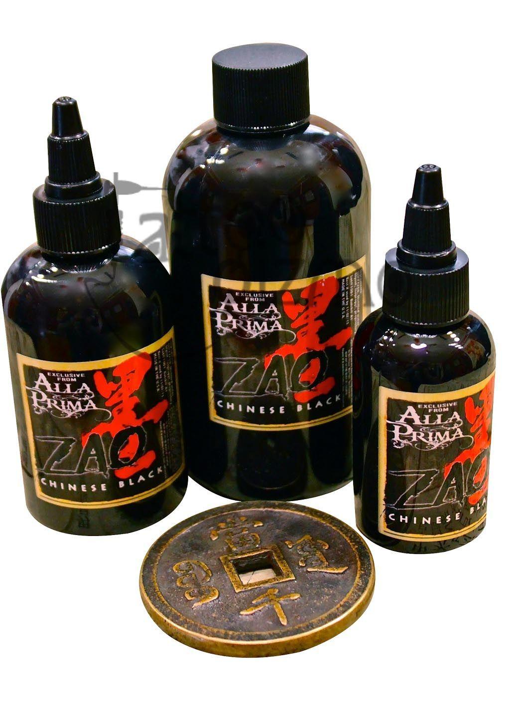 Model Name Alla Prima Zao The Darkest Black Ink Price 700 Rs Descrption Item Code Ink Zao Alla Prima Tattoo Supplies Ink Tattoo Tattoos