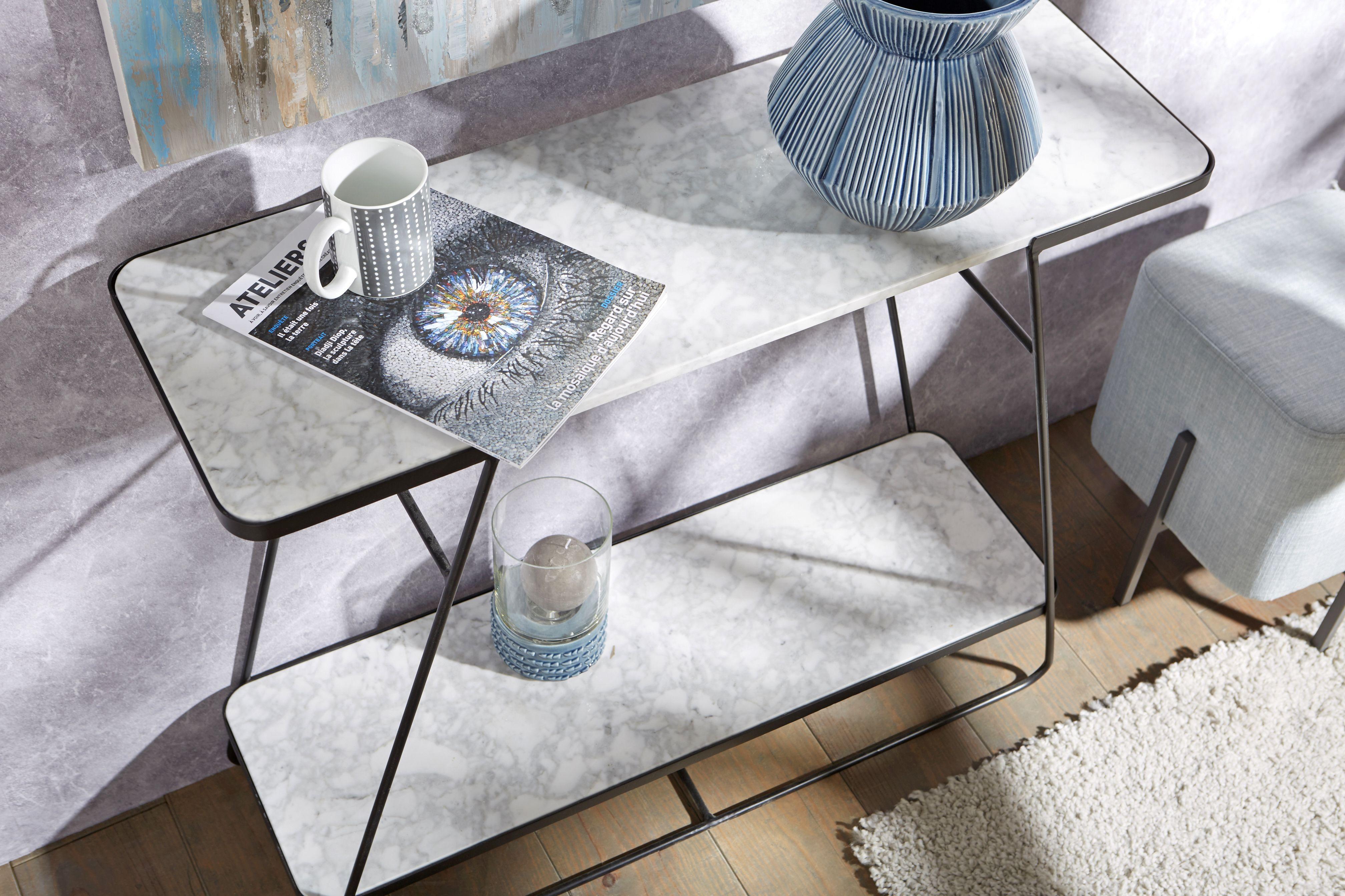 Décoration Moderne Design Home Console Marbre Amadeus