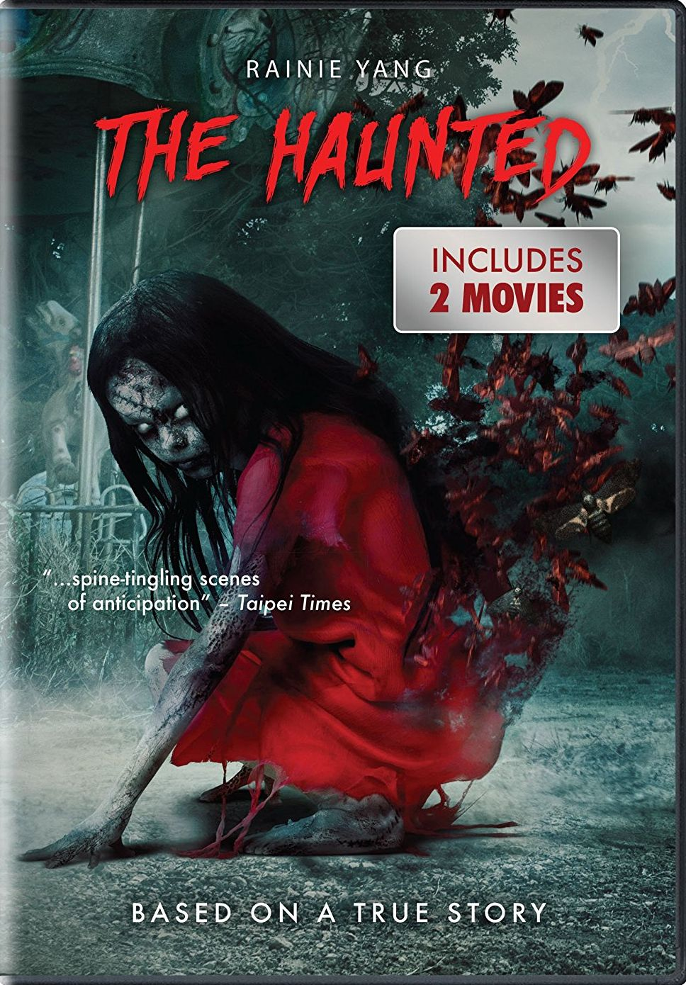 THE HAUNTED DVD (CINEDIGM) Top horror movies