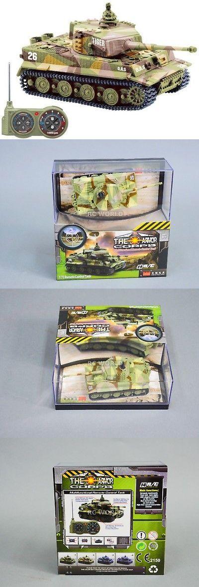 Tanks and Military Vehicles 45986: Rc Micro Battle Tank Mini