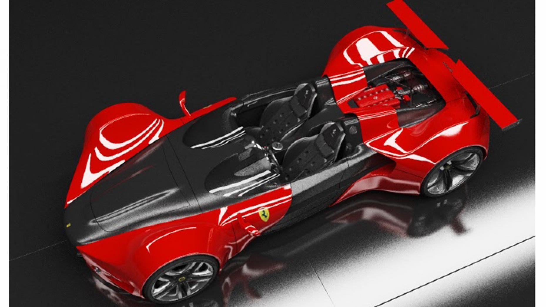 This is the Ferrari 'Celeritas' Top Gear in 2020