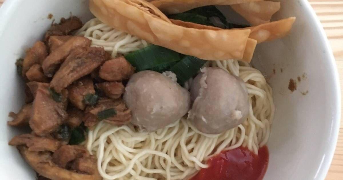 Resep Mie Ayam Abang Abang Oleh Jodia Pravita Resep Resep Mie Memasak Makanan Indonesia
