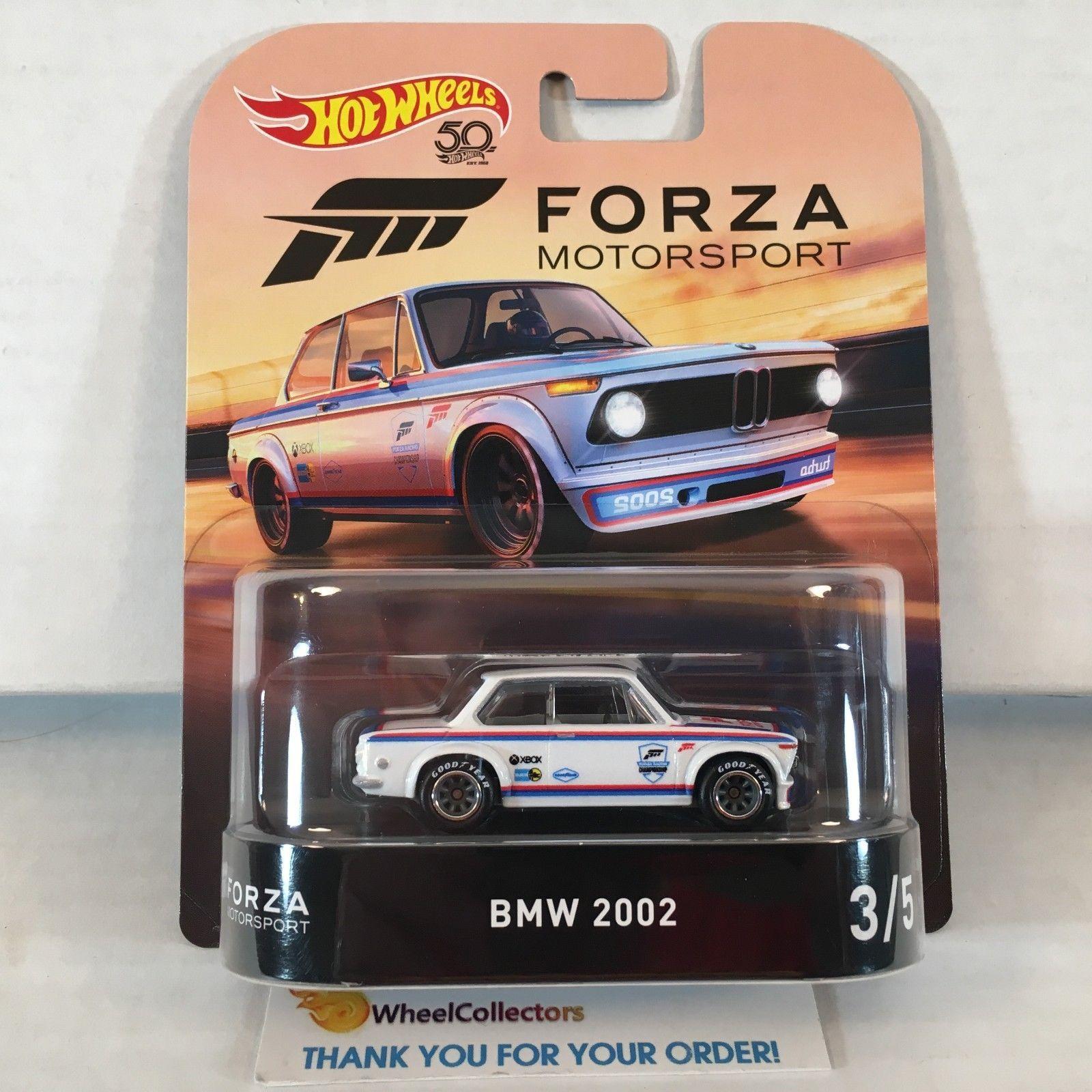 7 99 Bmw 2002 2018 Hot Wheels Retro Forza Case J In Stock