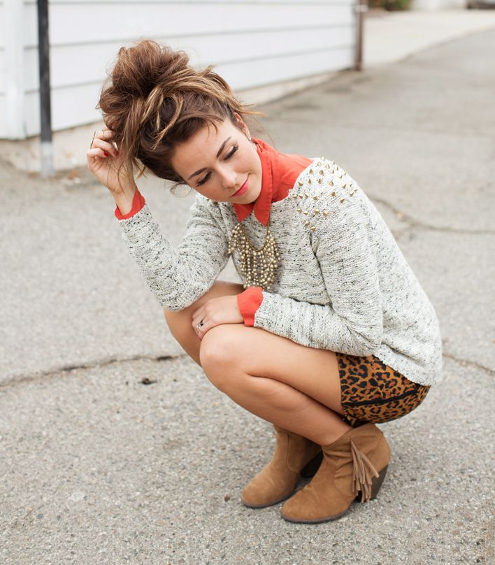 Perfect fall outfit   Promise Tangeman