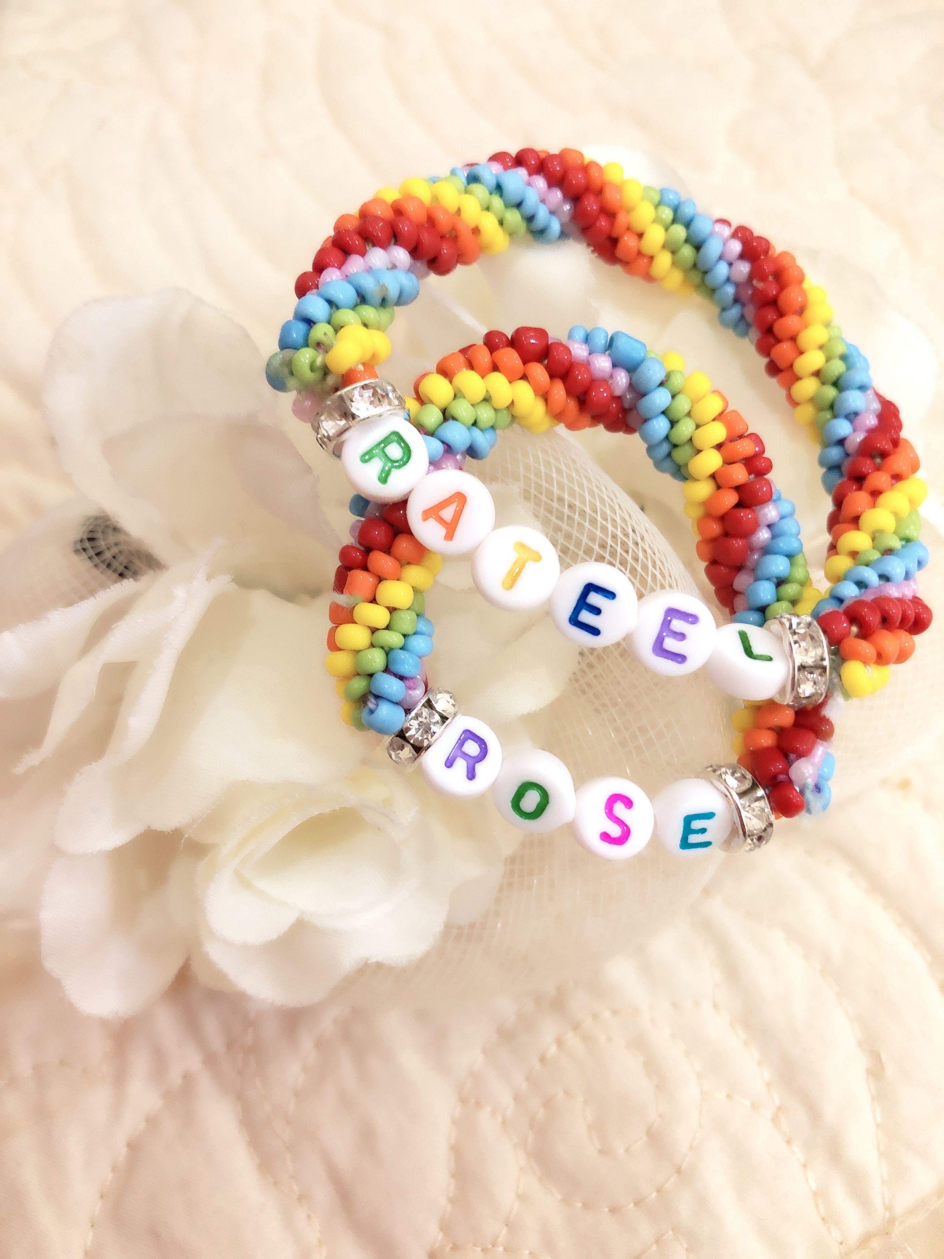 Beads Fot Baby S Girls Embroidered Friendship Bracelet Beads S Girls