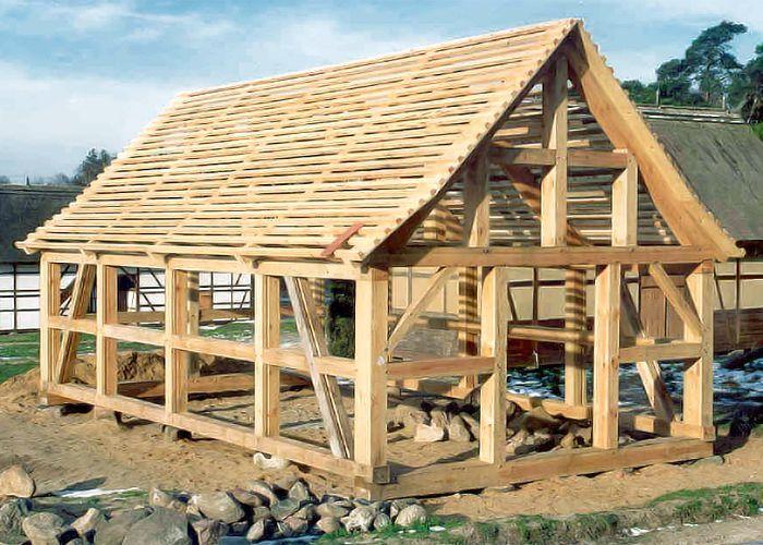 Fachwerk zimmerei thielke aus luckau ingenieurholzbau for Fachwerkhaus konstruktion