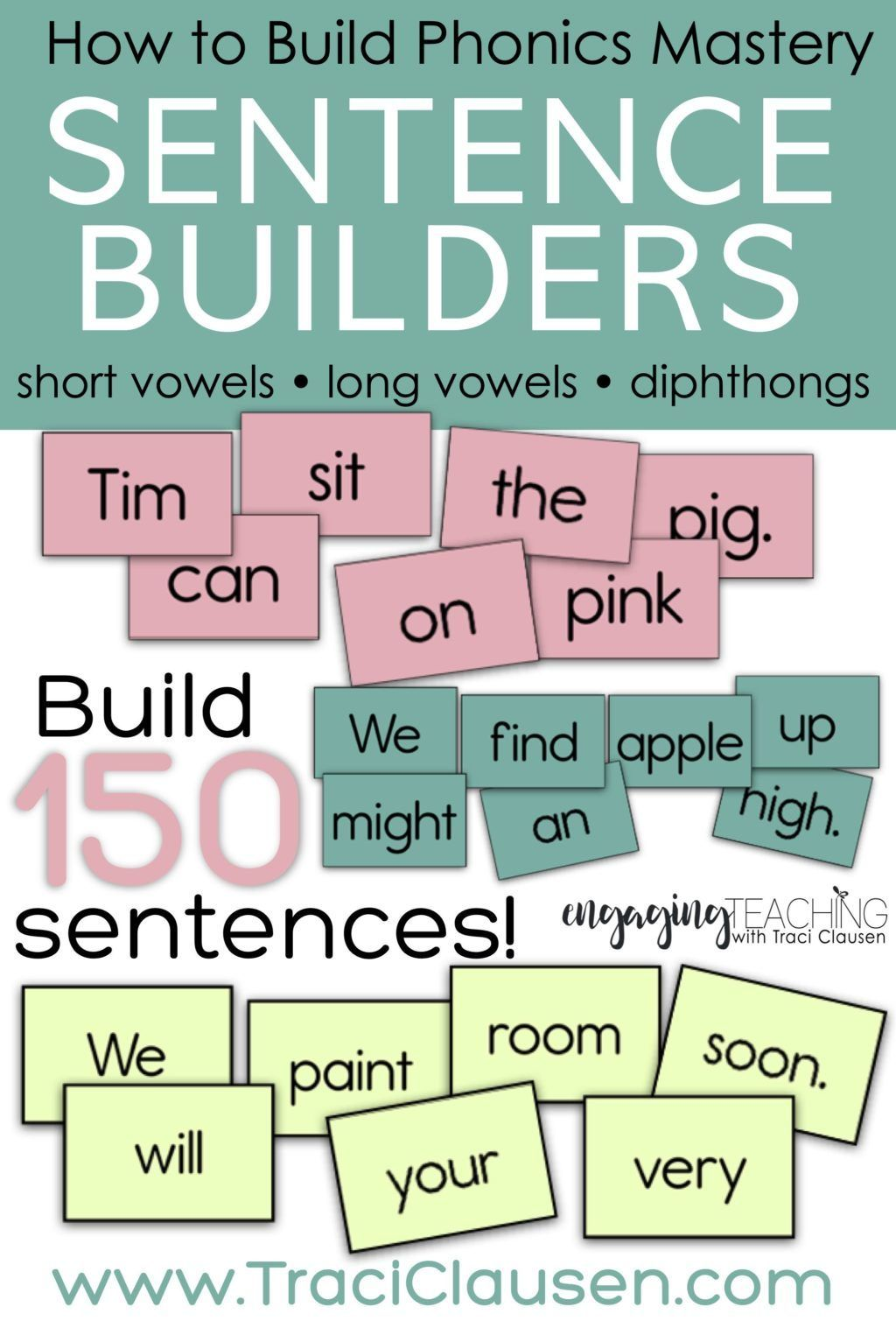 small resolution of Phonics Reading Instruction   Sentence writing activities